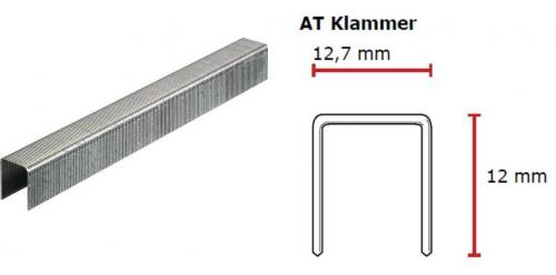 SENCO AT-Klammer 12 mm verzinkt CP C -Pack AT08BAAP