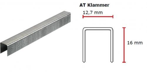 SENCO AT-Klammer 16 mm verzinkt CP C -Pack AT10BAAP