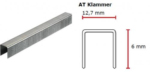 SENCO AT-Klammer 6 mm verzinkt CP C -Pack AT04BAAP
