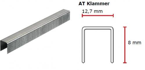 SENCO AT-Klammer 8 mm verzinkt CP C -Pack AT05BAAP