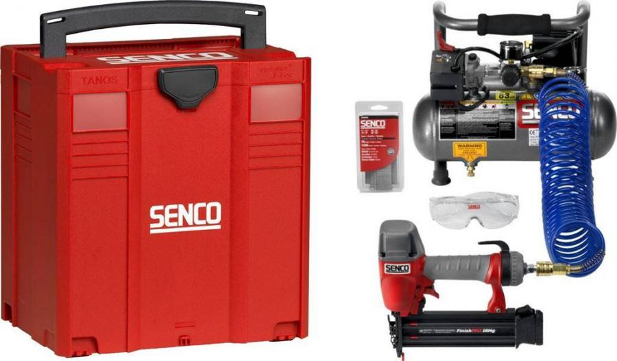 SENCO Kompressor Set PC1010/FinishPro 18Mg